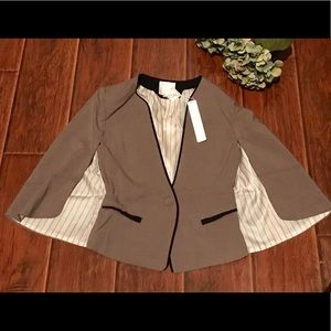 Line & dot batwing cape blazer NWT NEW SMALL